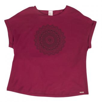 Damen-Yogashirt mit Motiv