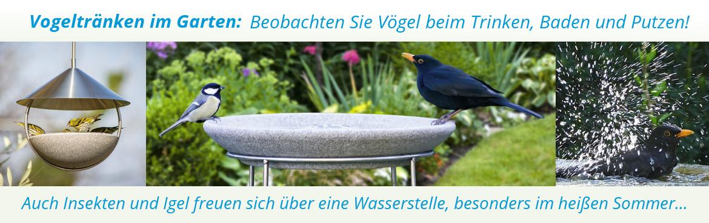 Banner Vogeltränken